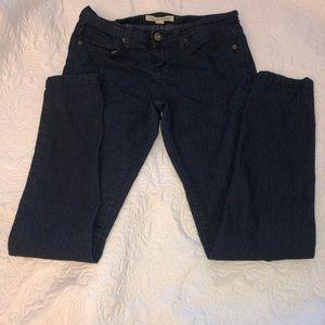 Forever 21 Dark Denim Skinny Jeans